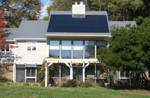 Ncsu solar house raleigh rambles for Solar energy house designs
