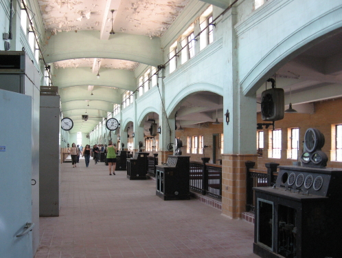 Bain Water Plant Main Hall