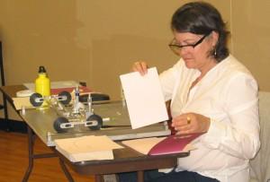 Mercedes Teixido drawing machine